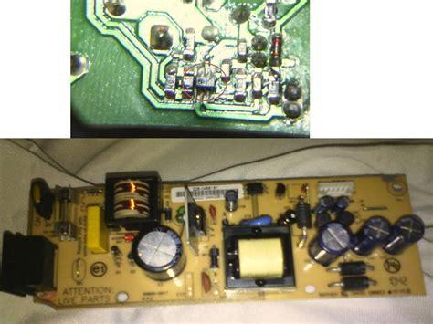 solucionado problema con fuente commutada de decodificador l12p directv yoreparo