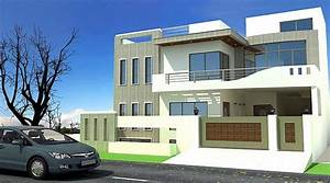 Modern homes exterior designs front views pictures.