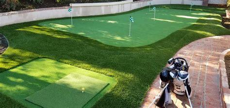 Backyard Artificial Putting Green by Premium Artificial Grass Backyard Putting Greens