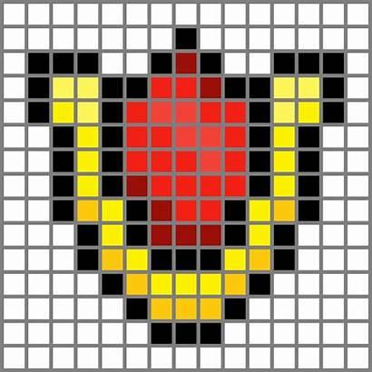 Grid Ruby Goron Pixel Grids Bowser Deviantart