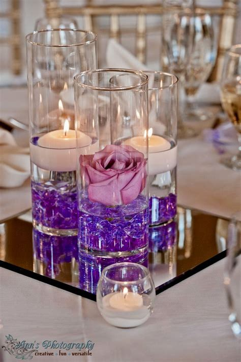 cylinder vase centerpieces ideas  pinterest