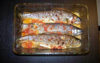 cuisiner des truites recette truite au plemousse 750g