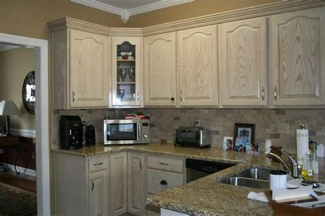 whitewash kitchen cabinets 22 fabulous photo of whitewash oak cabinets concept home 1071