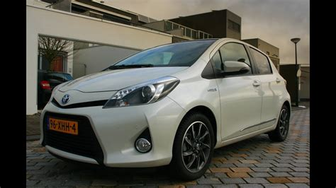 toyota yaris hybrid  review youtube