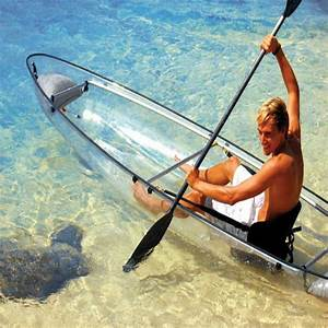 2 Personas U Boat See Through Kayak Durable Double Layer