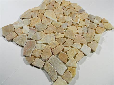 Honey Onyx Flat Stone Tile Pebbles Outdoor Landscape