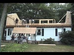 Raising the roof in one day for the home for Cost of adding a second floor to a ranch