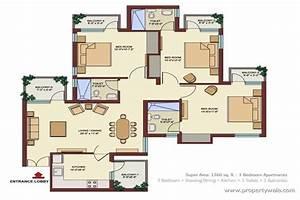 bedroom apartment floor s and bedroom apartment floor s floor With plan of four bedroom flat