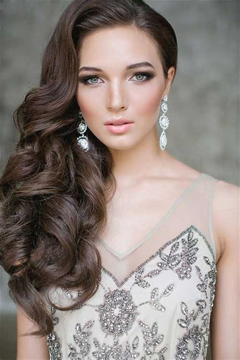 hair curled to the side styles 20 hairstyles for hair hairstyles 2016