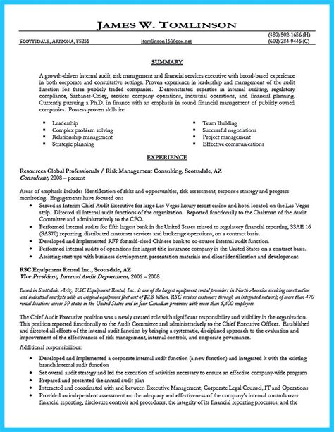 Cool Resume Formats by Cool Understanding A Generally Accepted Auditor Resume