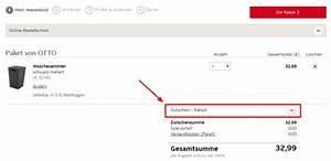 Otto Gutschein Eingeben : in 3 schritten bei otto einen gutschein einl sen so geht 39 s ~ Buech-reservation.com Haus und Dekorationen