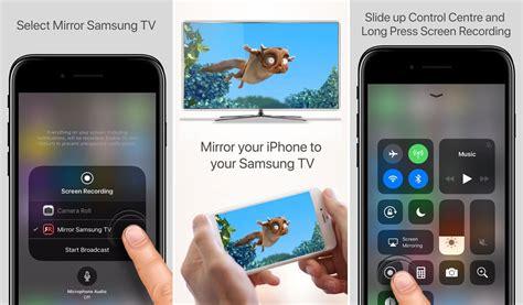 mirror  iphone    samsung tv