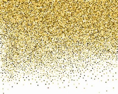 Glitter Confetti Definition Backgrounds Transparent Yellow Pngio