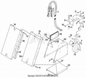 Gravely 43412 Car Pusher 2 Wheel Tractor Parts Diagram For