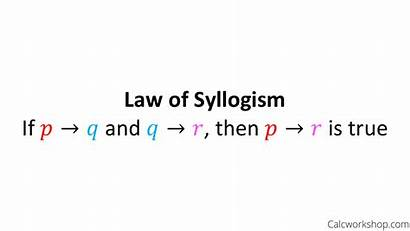 Syllogism Law Definition Detachment Examples Reasoning