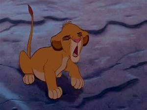 The Lion King - Young Simba Talks To Scar - YouTube