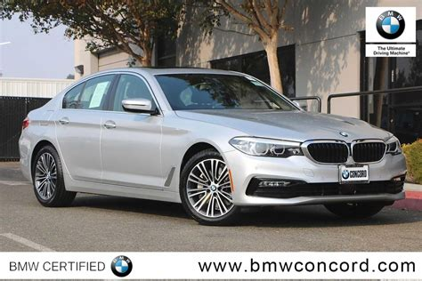 Certified Bmw by Certified Pre Owned 2018 Bmw 5 Series 530i Sedan 4dr Car