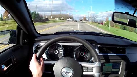 ford mustang gt track pack wr tv pov test drive