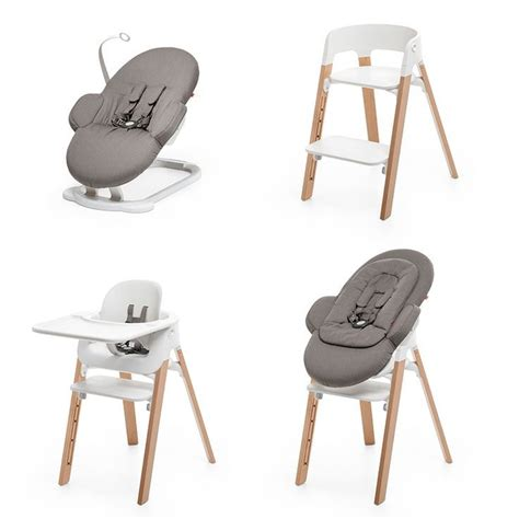 scandinavian designed stokke steps seating system