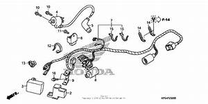Wire Harness For 2005 Honda Crf230