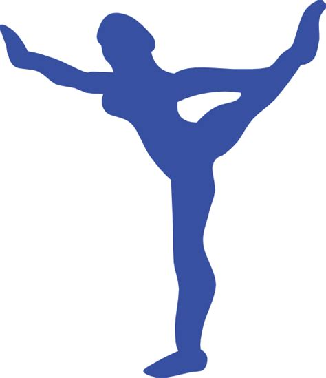 Girl Gymnastics Clipart Silhouette | Clipart Panda - Free ...