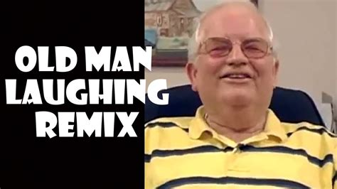 Old Man Funny Laughing Picture
