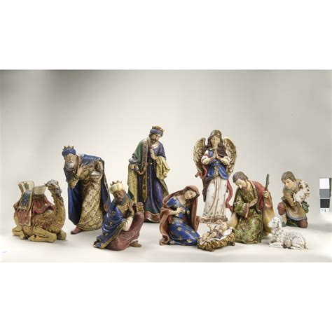 roman inc 10 piece nativity figurine set reviews wayfair