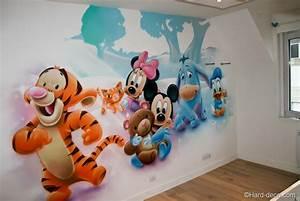 Chambre Bébé Disney : chambre de b b s disney hard deco ~ Farleysfitness.com Idées de Décoration