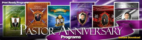 pastor anniversary program templates abundant pastor anniversary program pastor anniversary 23908