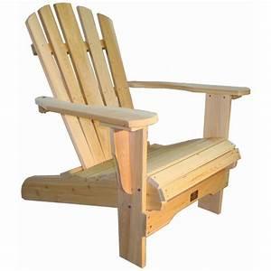 Fauteuil Bois Exterieur : fauteuil adirondack fauteuil de jardin en bois muskoka westport chair ~ Melissatoandfro.com Idées de Décoration