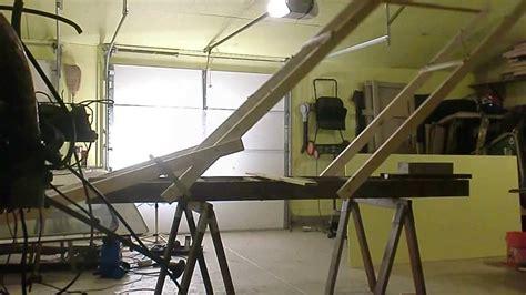 diy drywall  panel lift hoist youtube