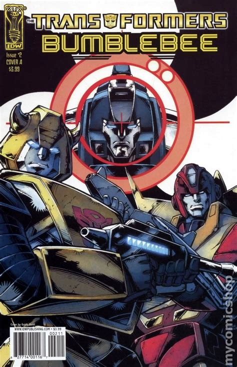 transformers bumblebee  idw comic books