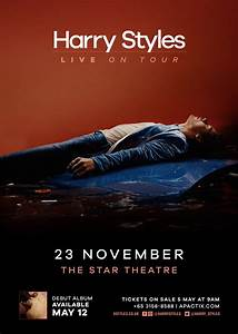 Harry Styles LIVE on Tour: Singapore Concert on November ...