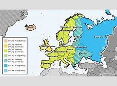 Zeitzone Deutschland – mit GMTZeitverschiebung