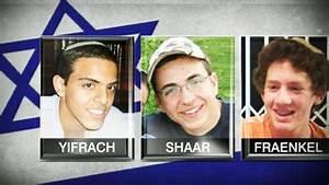 3 Missing Israeli Teens Found Dead; Air Strikes Hit Gaza ...