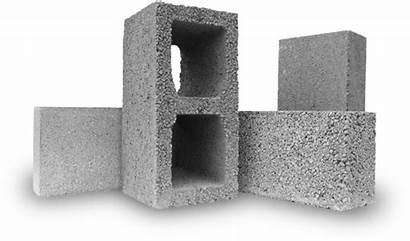 Blocks Block Concrete Transparent Building Lightweight Clipart