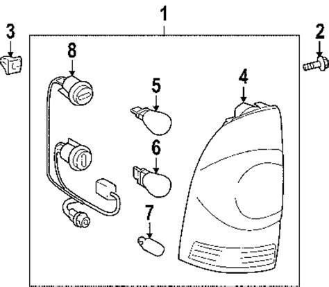 Toyota Tacoma Tail Light Wiring Diagram