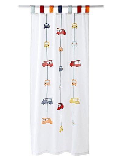 Kinderzimmer Deko Fahrzeuge by Vorhang Mit Feuerwehr Motiven Wei 223 Bedruckt Kinderzimmer