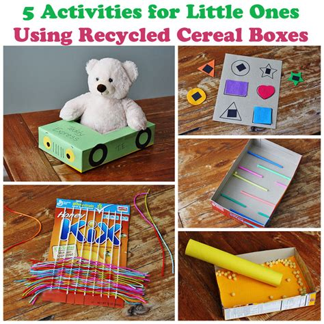cereal box crafts for preschoolers 5 cereal box projects for ones 183 kix cereal 994