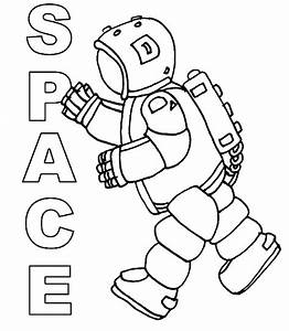 Astronauts | Free Coloring Pages
