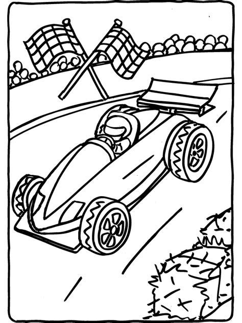 Kleurplaat Formule 1 by Kleurplaat Formule 1 Racewagen Kleurplaten Nl