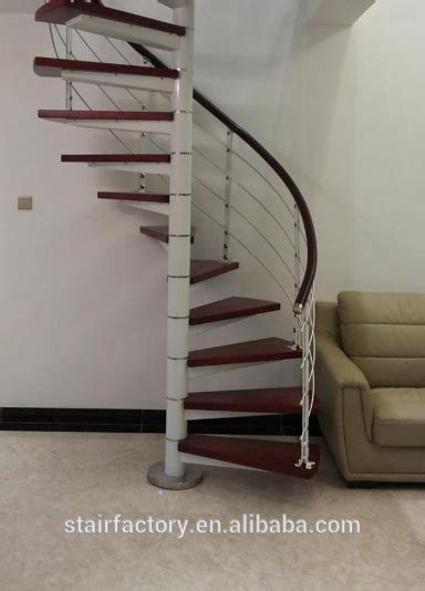 spiral staircase  indoor spiral steel wood stair