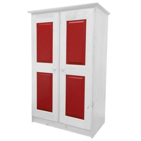 chambre en pin massif pas cher armoire en pin massif coloris blanc lasure et