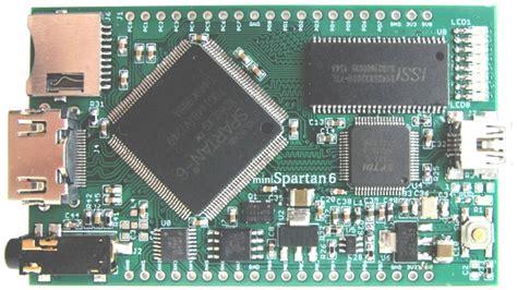 $69 miniSpartan6+ Board with Xilinx Spartan 6 FPGA ...