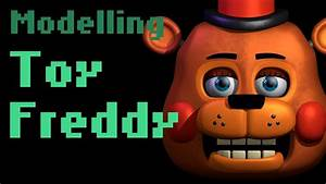 Modelling Toy Freddy  Fnaf Fan Art