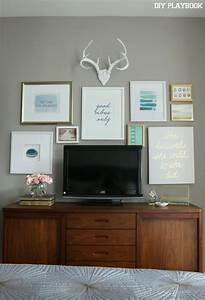 Best decorating around tv ideas on wall