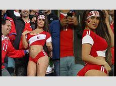 Selección Peruana Esta hincha sorprendió en el estadio