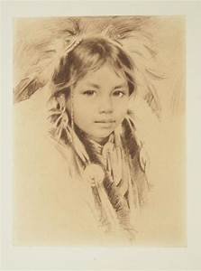 Native American Girl | Native American Drawings, ect ...