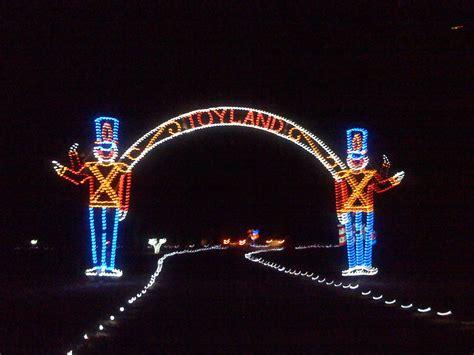 christmas lights at bull run open loudoun county area