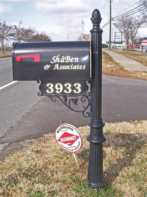 mailbox custom metal mailboxes steel  subdivision